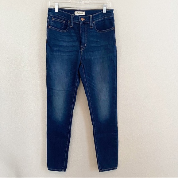 """Madewell 9"""" midrise skinny jeans size 29"""